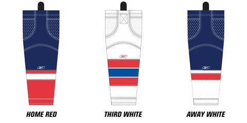 Reebok Edge SX100 Washington Capitals Mesh Socks Senior