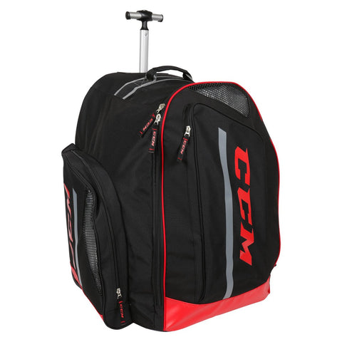 "CCM 280 Deluxe Wheeled Equipment Backpack (17"") - Discount Hockey"