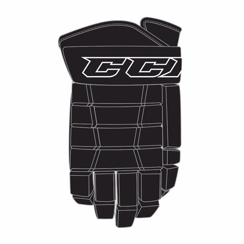 CCM 4-Roll Pro III Hockey Gloves - Discount Hockey