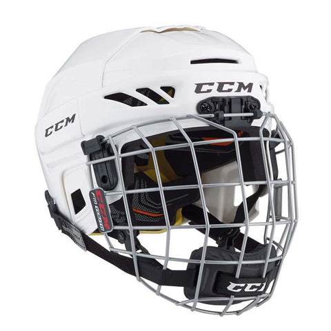 CCM FitLite 3DS Youth Hockey Helmet w/ Cage