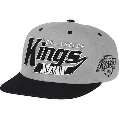 CCM Los Angeles Kings Hockey Stick Snapback Hat - Discount Hockey