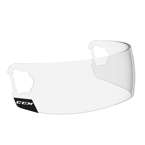 CCM Revision Straight Short Visor with FastClip