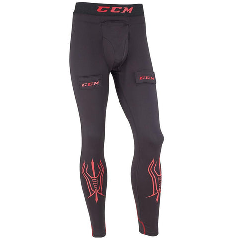 CCM Compression Pants With Cup - Discount Hockey