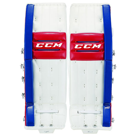 CCM Retro Flex Pro Goalie Leg Pads - Discount Hockey