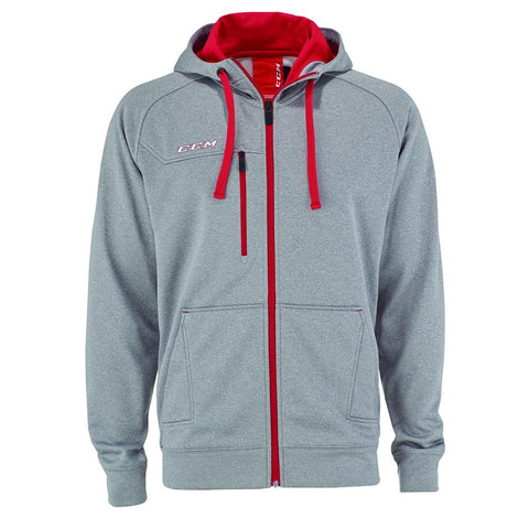 CCM Team Premium Full-Zip Fleece Hoodie - Discount Hockey