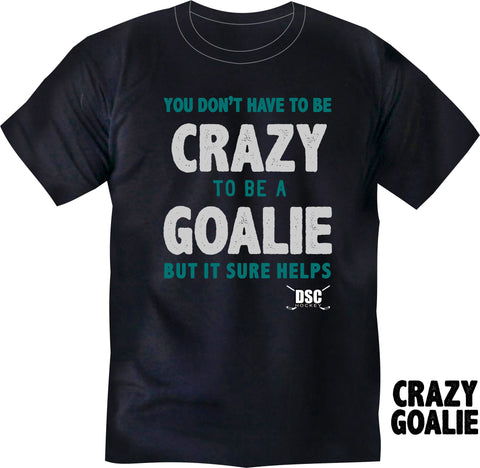 "DSC ""CRAZY GOALIE"" Youth Tee Shirt"