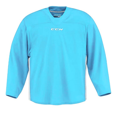 CCM Quicklite 60000 Sky Blue/White Custom Practice Hockey Jersey