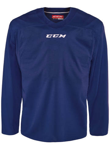 CCM Quicklite 60000 Royal/White Custom Practice Hockey Jersey