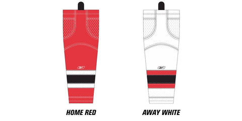 Reebok Edge SX100 New Jersey Devils Mesh Socks Senior