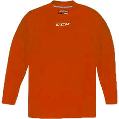 CCM Quicklite 5000 Orange Custom Practice Hockey Jersey
