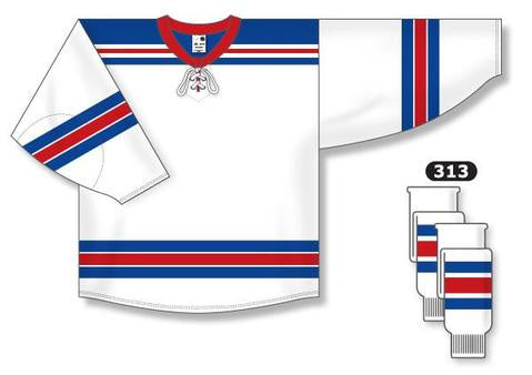 New York Rangers Custom Away Jersey