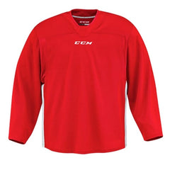 CCM Quicklite 60000 Red/White Custom Practice Hockey Jersey