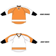 Philadelphia Flyers Reebok Edge Uncrested Hockey Jersey