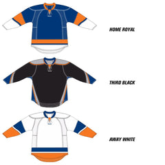 New York Islanders Reebok Edge Uncrested Hockey Jersey