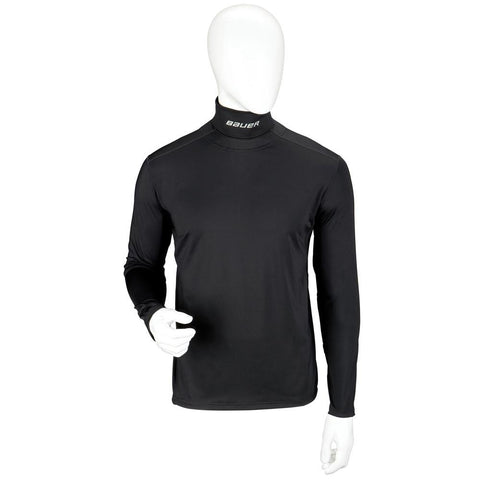 Bauer Core Longsleeve Integrated Neck Top - Discount Hockey