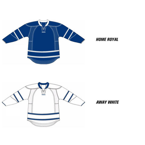 Toronto Maple Leafs Reebok Edge Uncrested Hockey Jersey (2011-2016)