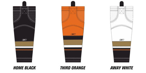 Reebok Edge SX100 Anaheim Ducks Mesh Socks (2010 - 2014) Intermediate