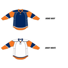 New York Islanders Reebok Edge Uncrested Hockey Jersey (2007-2010)
