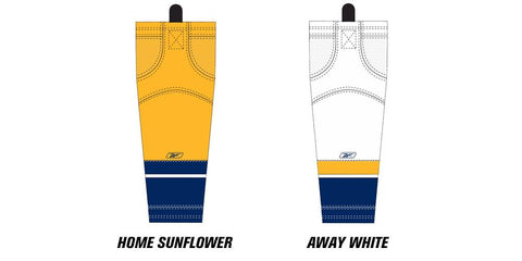 Reebok Edge SX100 Nashville Predators Mesh Socks Senior