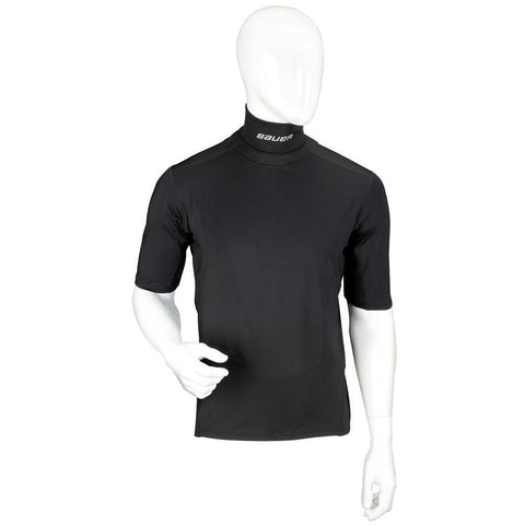 Bauer Premium Neck Short Sleeve Shirt - Discount Hockey