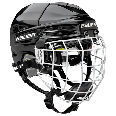 Bauer Re-Akt 100 Helmet Combo - Discount Hockey