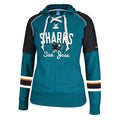 San Jose Sharks Women's Core Pullover Hooded Sweatshirt