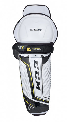 CCM Super Tacks AS1 Junior Shin Guards