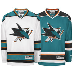 Reebok San Jose Sharks Premier Crested Youth Jersey (2007-2013)