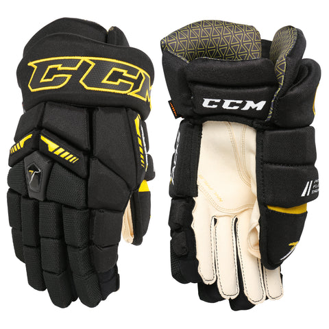 CCM Ultra Tacks Junior Hockey Gloves