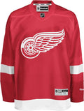 Reebok Detroit Red Wings Premier Crested Jersey