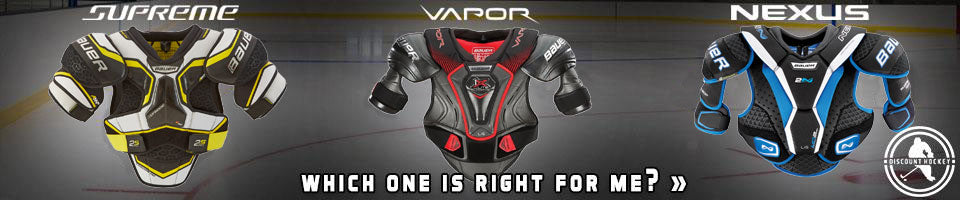 Bauer Supreme 1s Shoulder Pads Junior