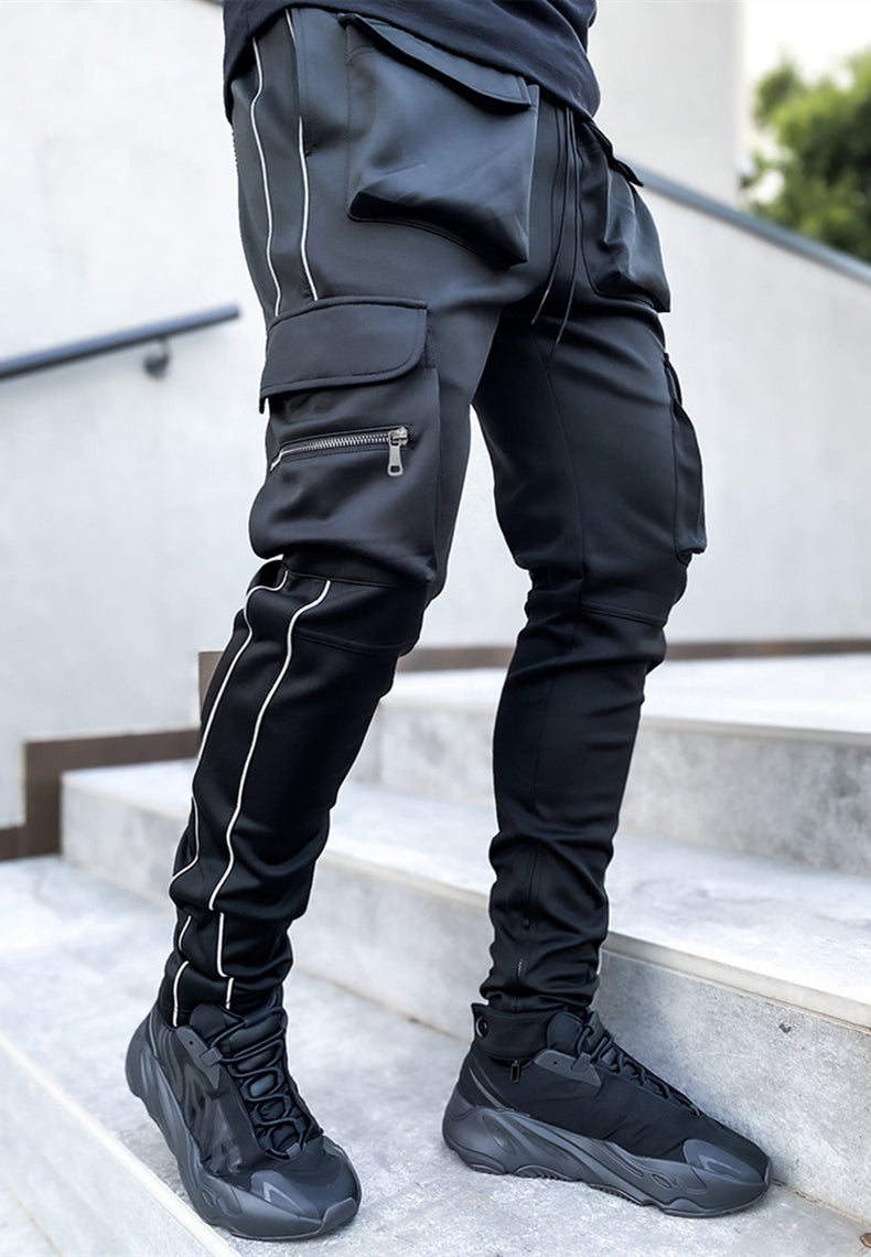 Reflective Cargo Trackpants