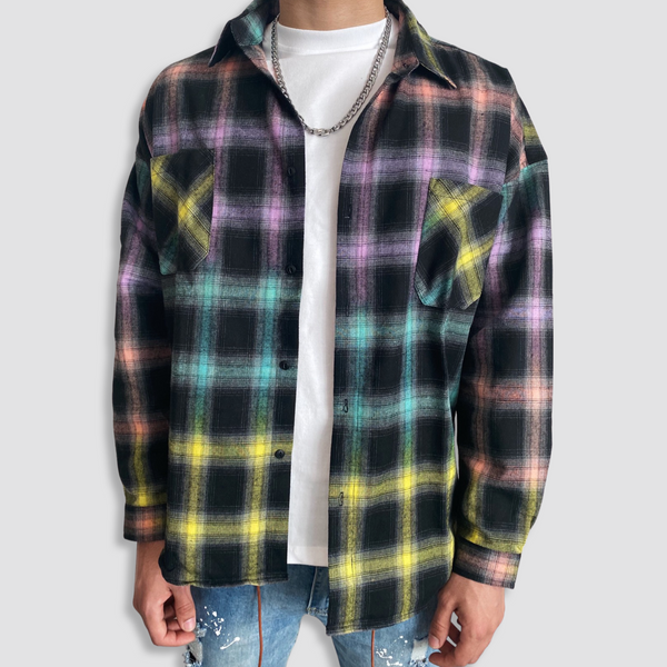 Livancé Colored Checked Vest
