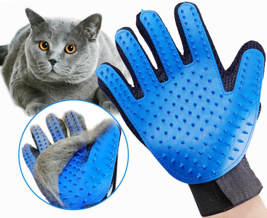 Kitty Grooming Massage Gloves