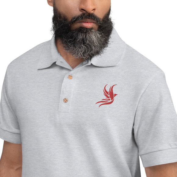 Jesse's Polo ROUGE GRIS