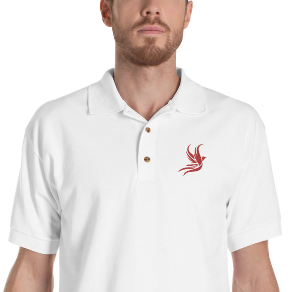 Jesse's Polo version ROUGE BLANC