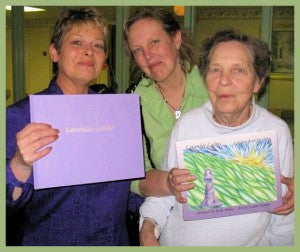 My sister Sharon, me, and my lovely mother, in 2008