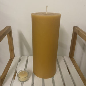 """Reflection"" candle- 400 hours of candle light Happy Flame"