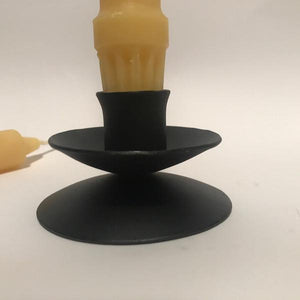 Happy Flame Beeswax candle stick Candlesticks made from certified organic beeswax ± 12 hours