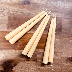 Happy Flame Beeswax candle stick Taper beeswax candle sticks