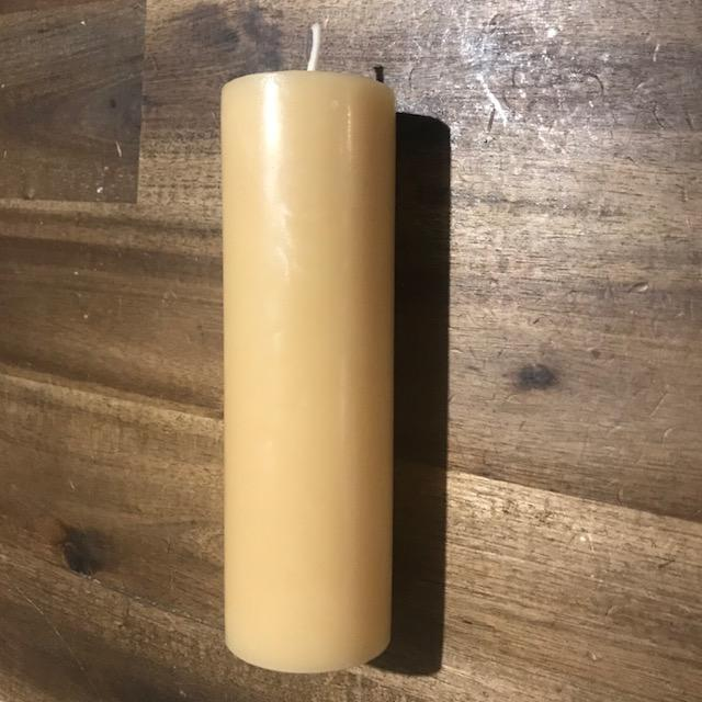 Advent Beeswax candles - Happy Flame