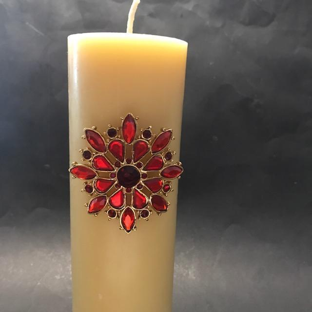 Candle Decoration Part - 16: Happy Flame Special Candle Packs Candle Pins Decoration For Your Beeswax  Candles.