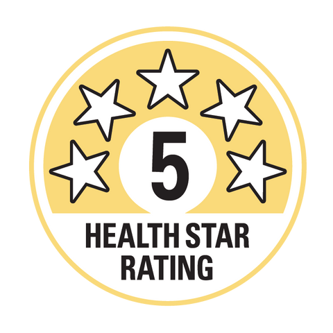 Healthy Square 5 Healthstar Rating