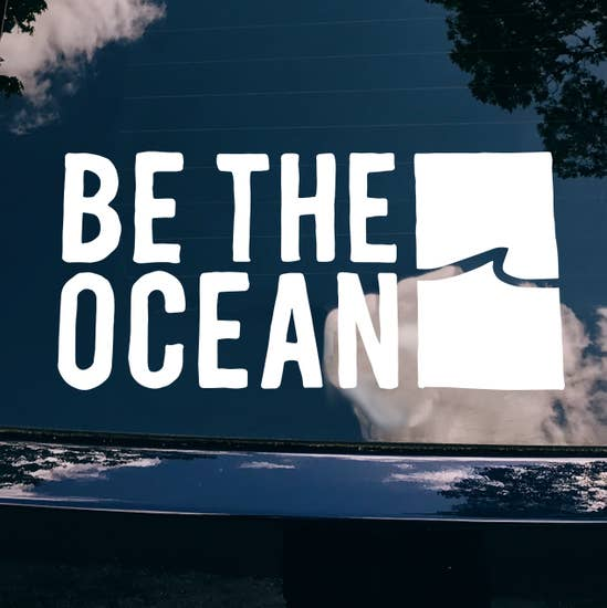 Be The Ocean Decal (STORMY)