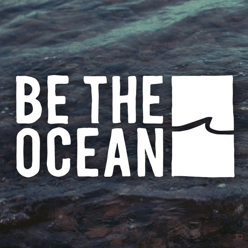 Mini Be The Ocean (STORMY) Decal