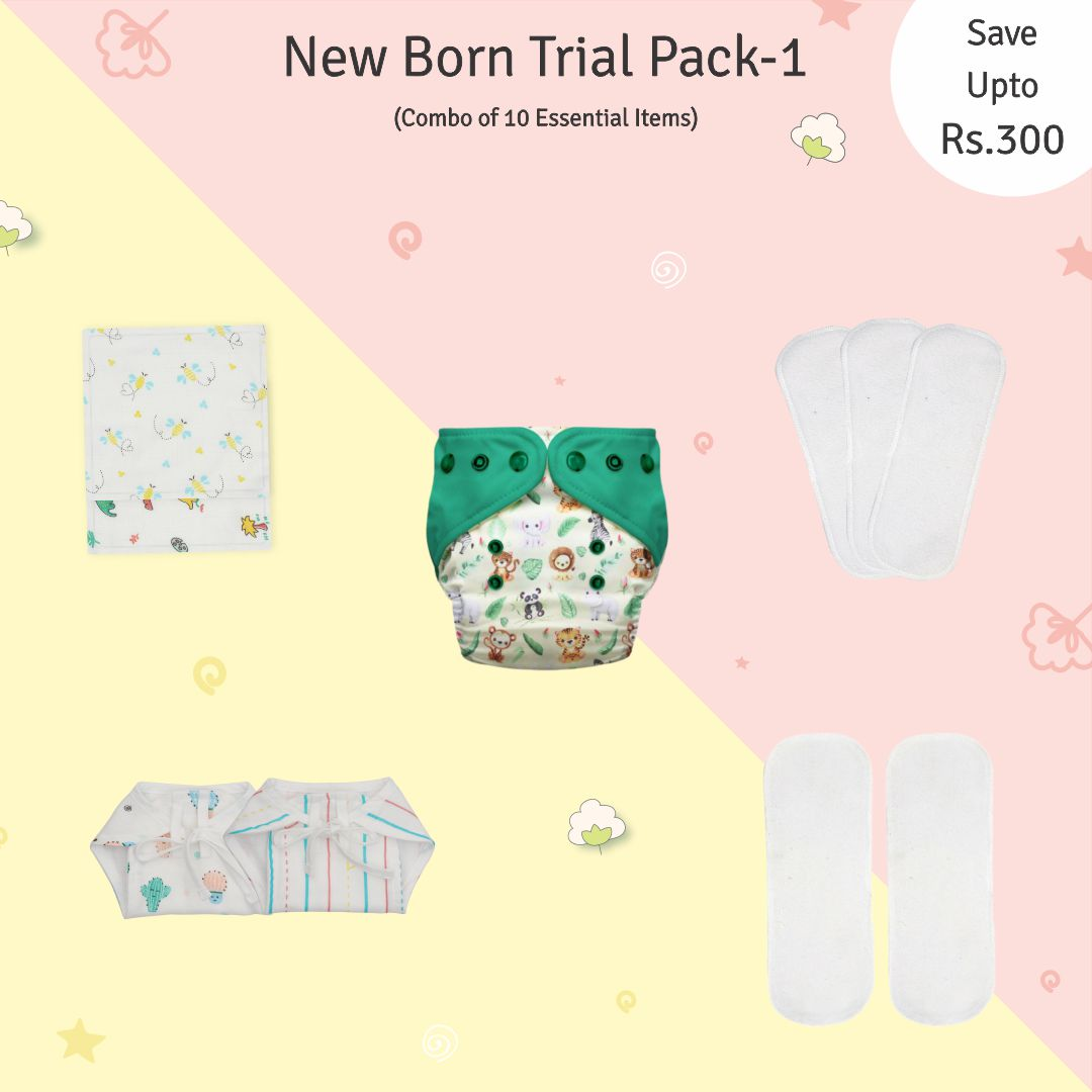 New Born Trial Pack 1 (2.5kgs To 6kgs)