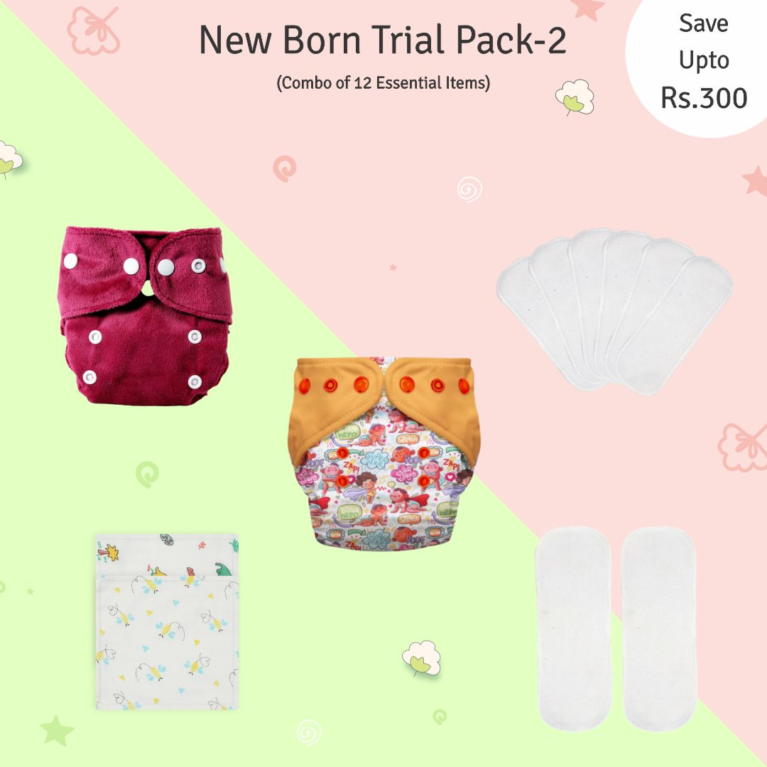 New Born Trial Pack 2 (2.5kgs To 6kgs)