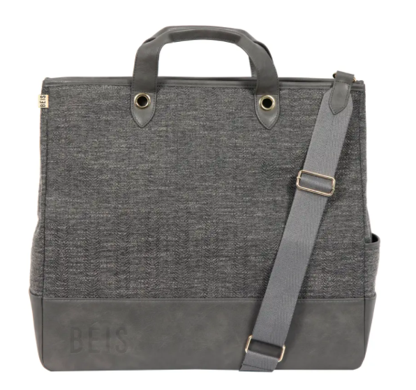 woven tote by BEIS