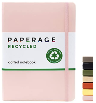 dotted notebook by paperage on amazon