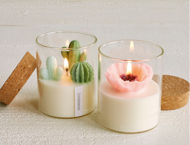 Zoe Tang terrarium candle at uncommon goods